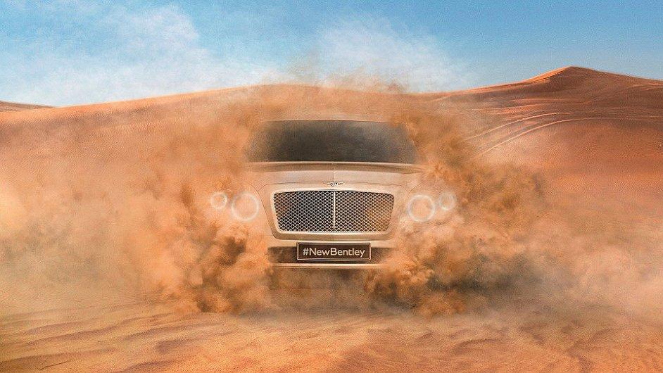 Bentley chystá nové SUV.