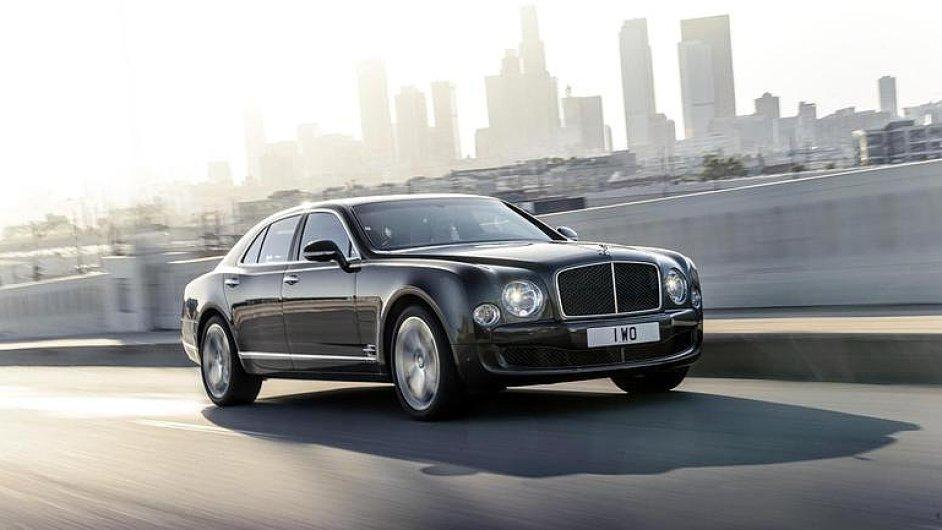 Bentley Mulsanne Speed: šampaňské ve 305 km/h