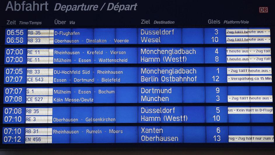 Deutsche Bahn - Ilustrační foto