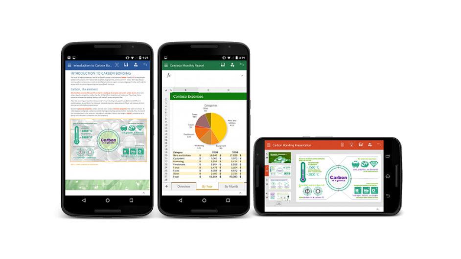 Microsoft Office pro telefony s Androidem