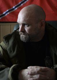 Přední vojenský vůdce proruských povstalců ve východoukrajinské Luhanské oblasti Alexej Mozgovoj.