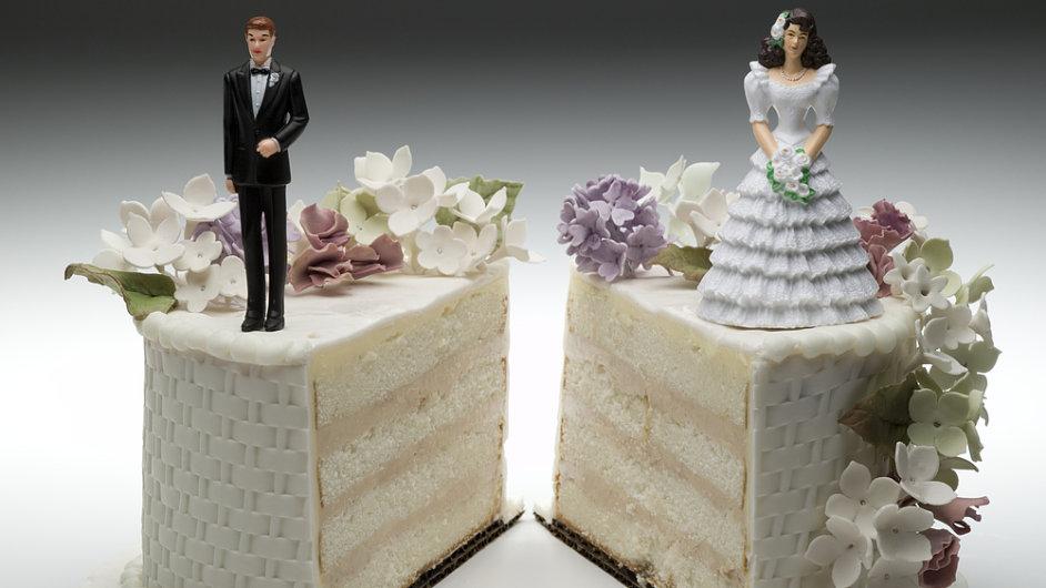V Americe se rozvádí nejvíc lidí na světě. - Ilustrační foto.