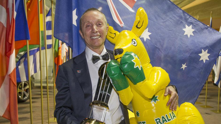 Světovým podnikatelem roku se stal Australan Manny Stul.