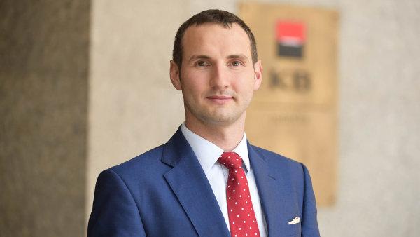 Ekonom Komerční banky Viktor Zeisel