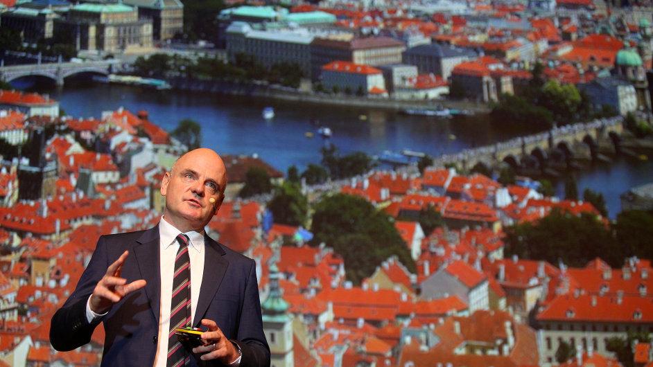 Britský architekt James Corner na konferenci reSITE.