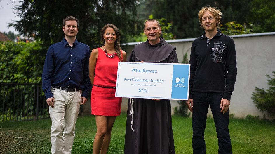Nadace Karla Janečka oceňuje lidi, kteří dělají nezištné skutky.