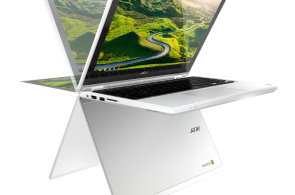 Ohebný chromebook Acer R11 se těší na Android