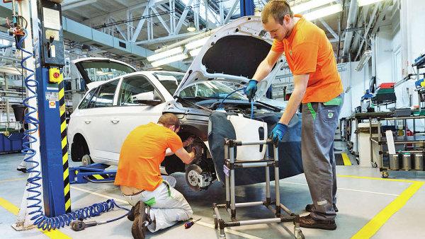 Škoda zvýšila výrobu o 19 procent na 232 327 vozů.