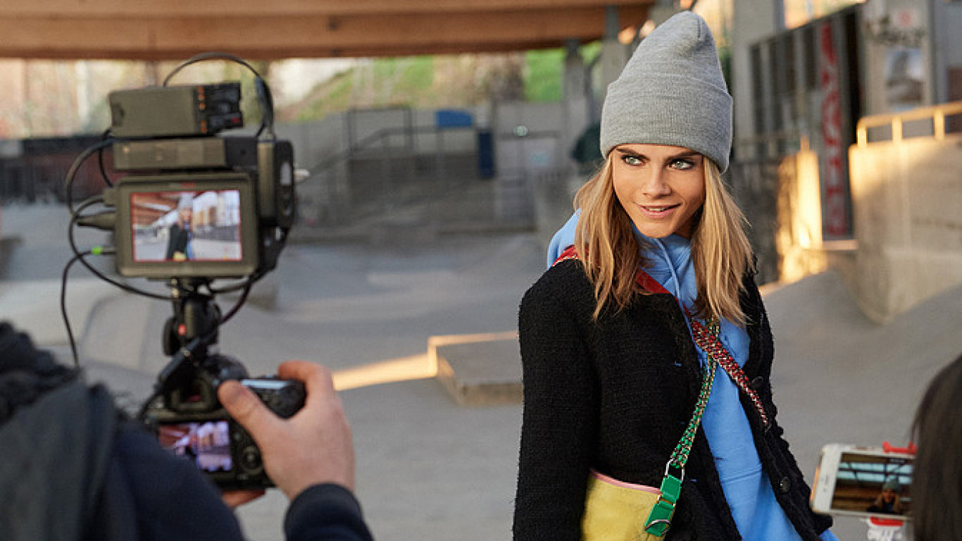 chanel cara making of
