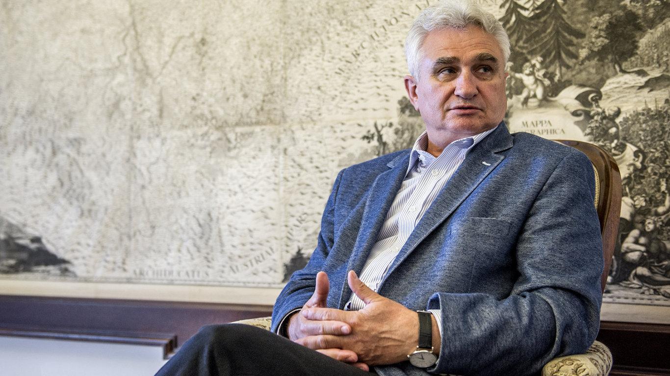 Milan Štěch, předseda Senátu Parlamentu České republiky