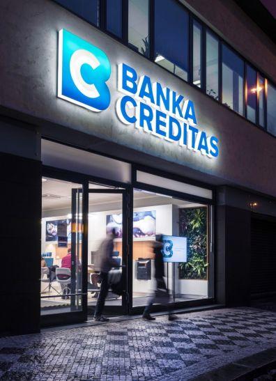Design strategicky podpořil vizi Banky Creditas.