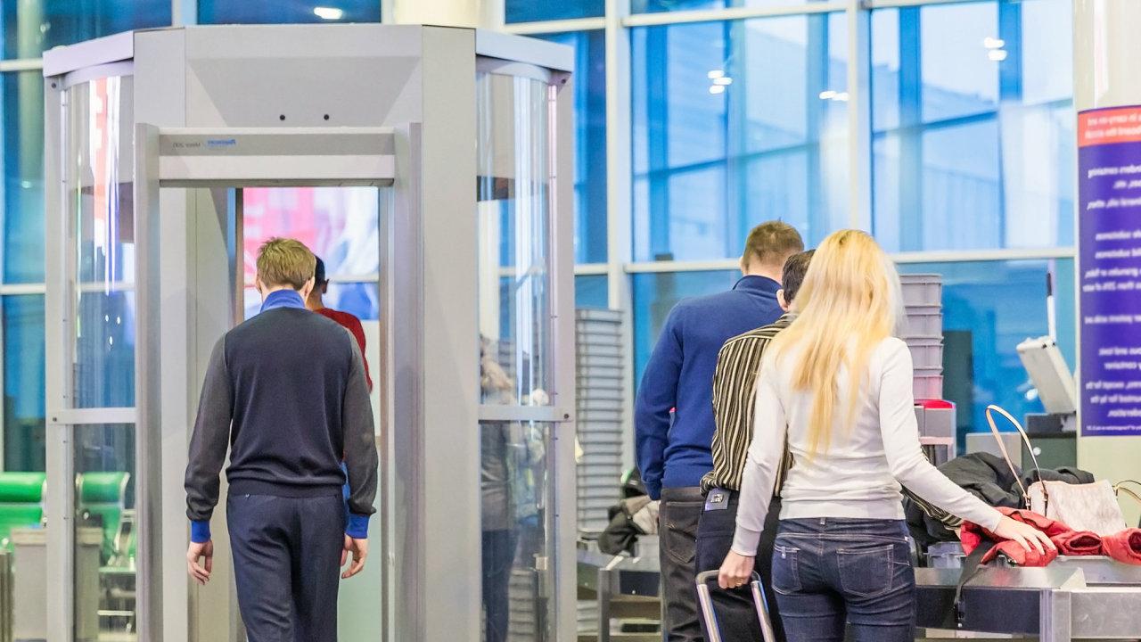 letištní kontrola security check