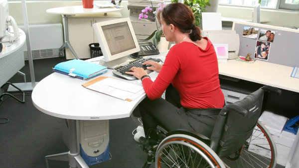 Zaměstnávání zdravotně postižených - Ilustrační foto