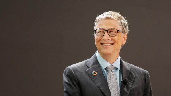 Zakladatel společnosti Microsoft a nejbohatší člověk planety Bill Gates.