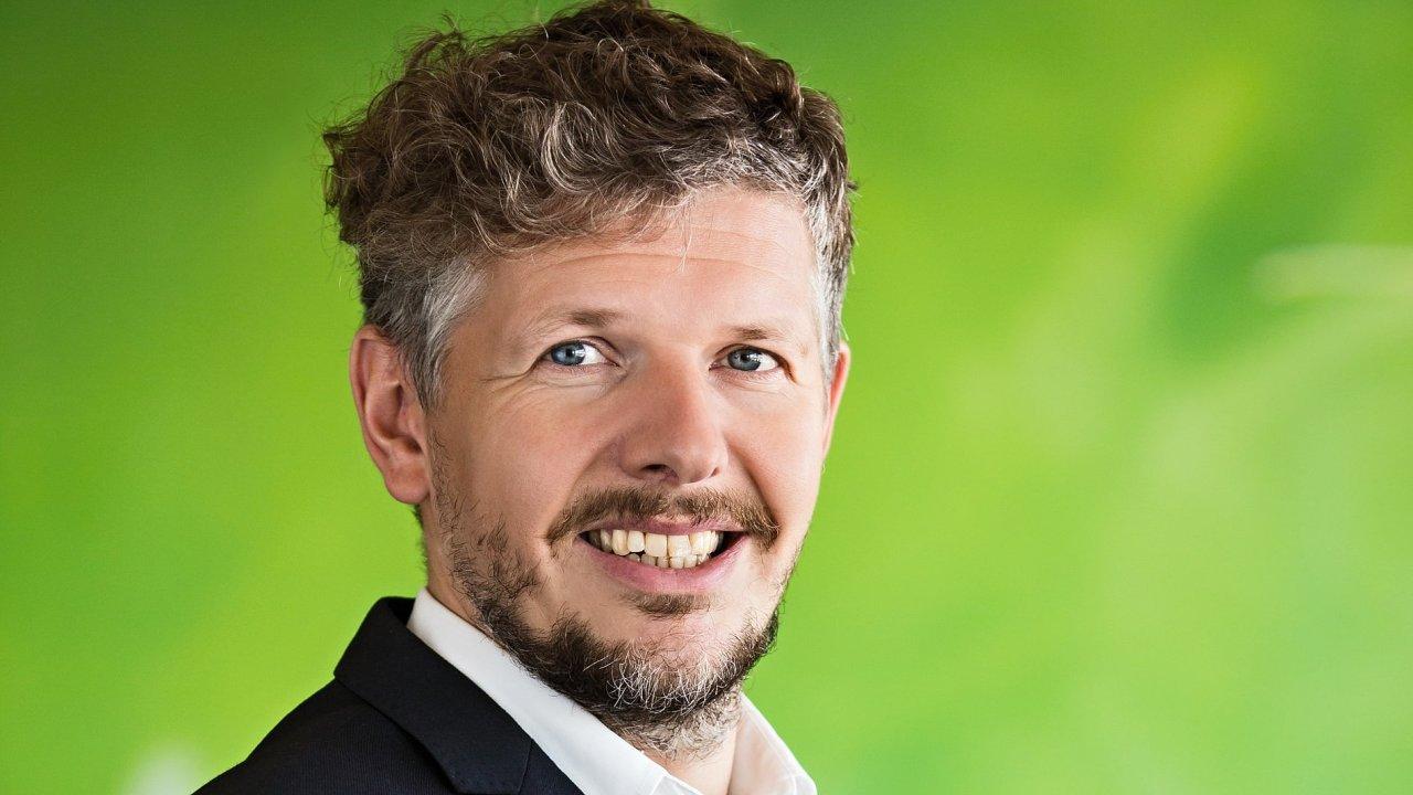 Filip Hrubý, tiskový mluvčí a vedoucí týmu externí komunikace České spořitelny