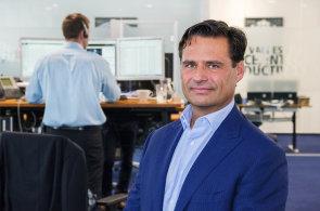 Výkonný ředitel a akcionář dánské Saxo Bank Kim Fournais.