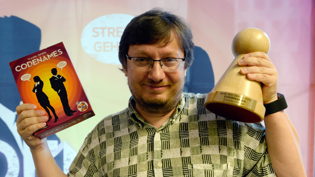 Vladimír Chvátil, Czech Games Edition se hrou Krycí jména.