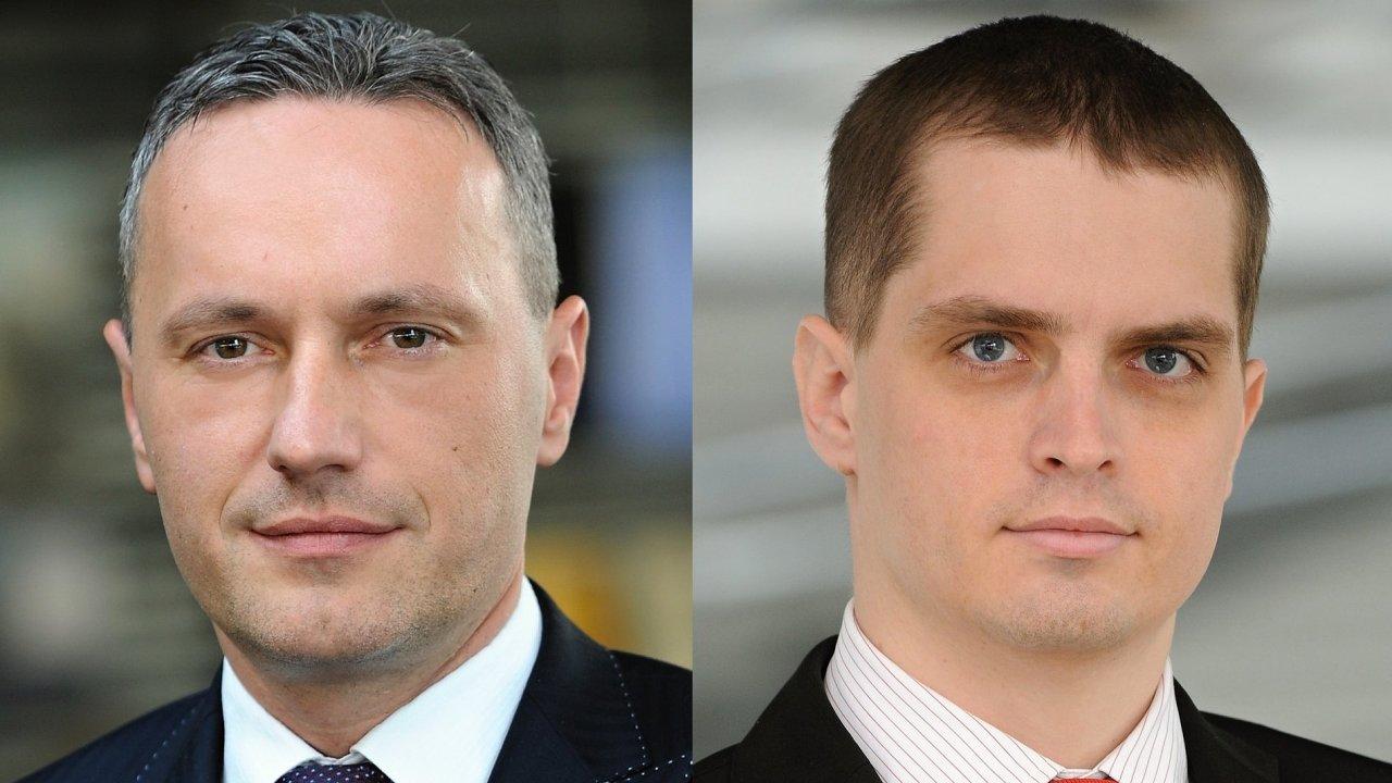 Martin Skront, Brand Manager společnosti Porsche Inter Auto CZ; Michal Kubišta, ředitel Porsche Praha - Smíchov
