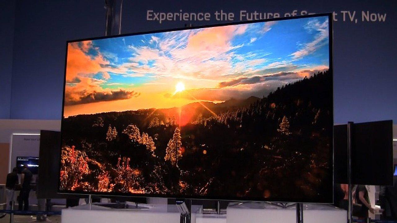 Samsung OLED televize.