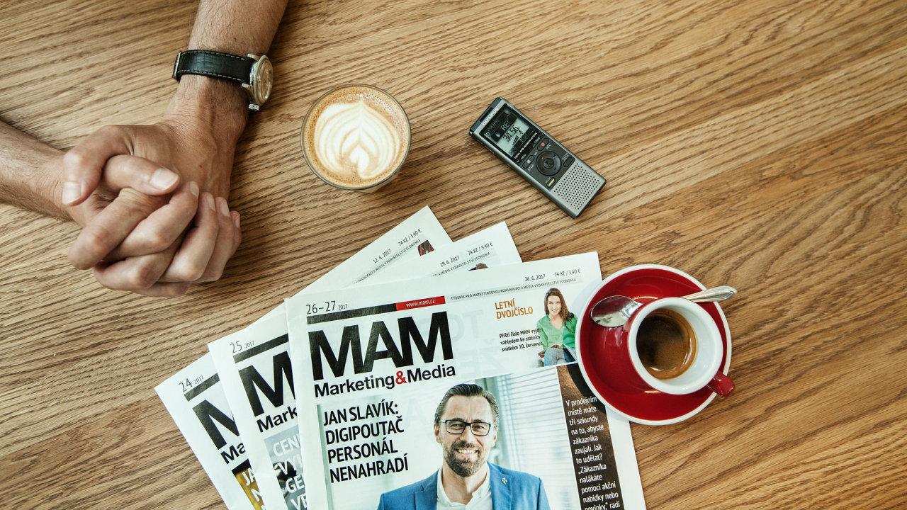Letní čtení z redakce MaM (Nejlepší rozhovory).