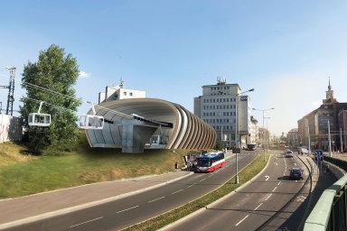 V Praze by do roku 2024 mohla vzniknout nová lanovka. Vedla by z Podbaby přes zoo až do Bohnic