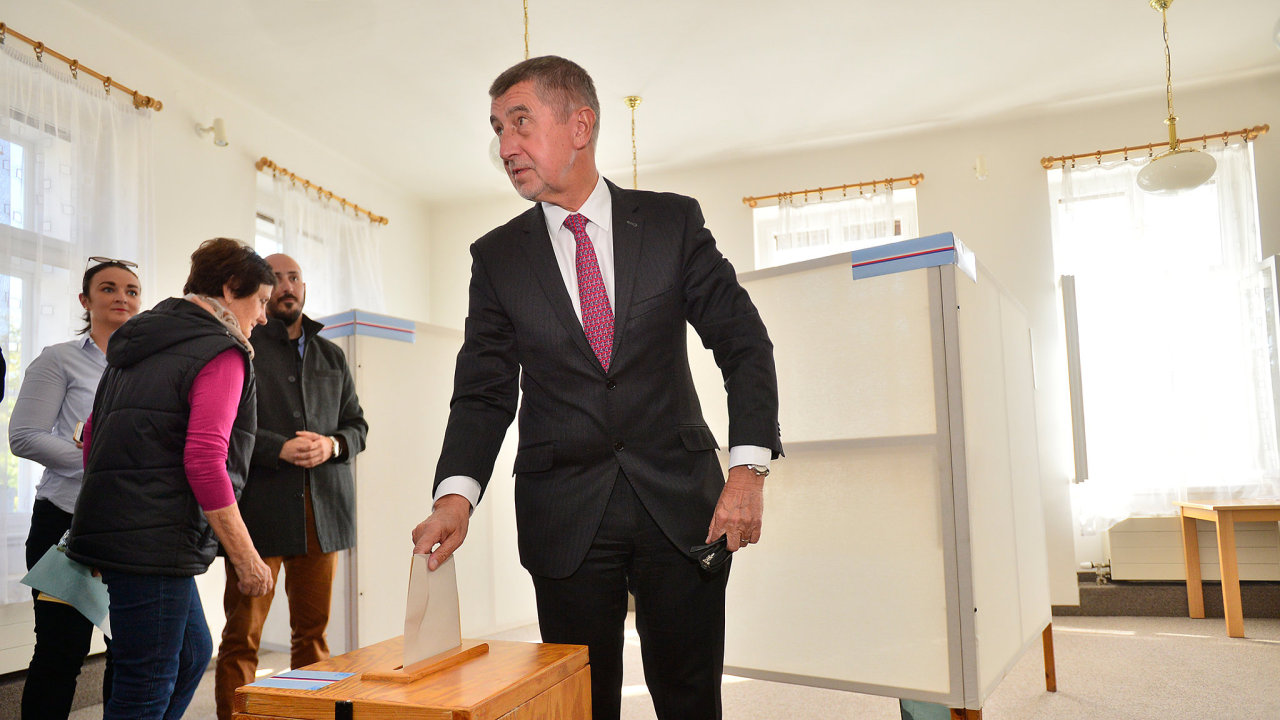 Andrej Babiš hlasoval jen v prvním kole letošních senátních voleb.