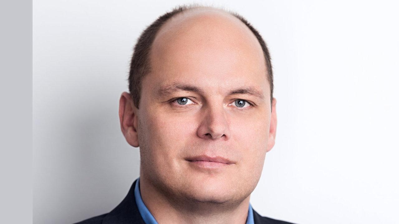 Daniel Žilinský, obchodní ředitel společnosti eD system pro slovenský trh