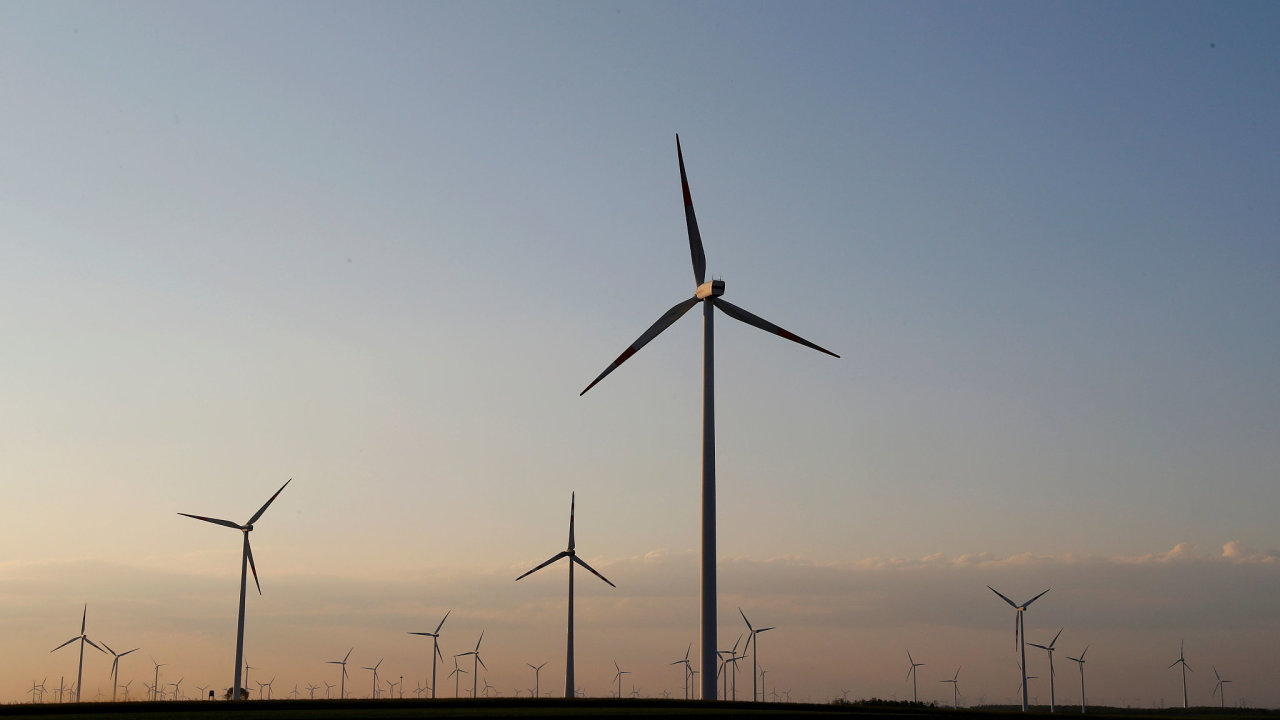 větrné elektrárny v Rakousku