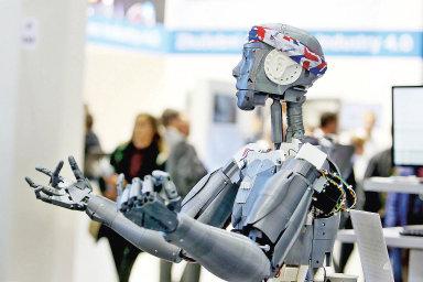 Robotizace adigitalizace, ilustrační fotografie