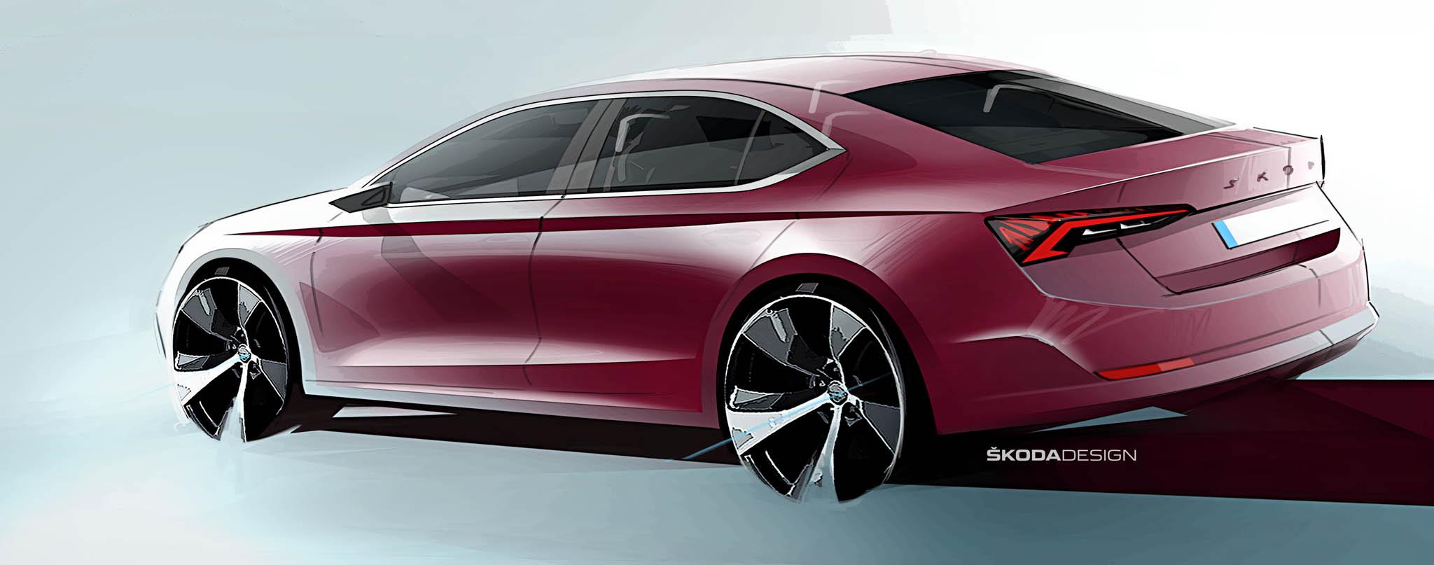 Nová Octavia se tvarově přiblíží kupé, ukáže se v listopadu.