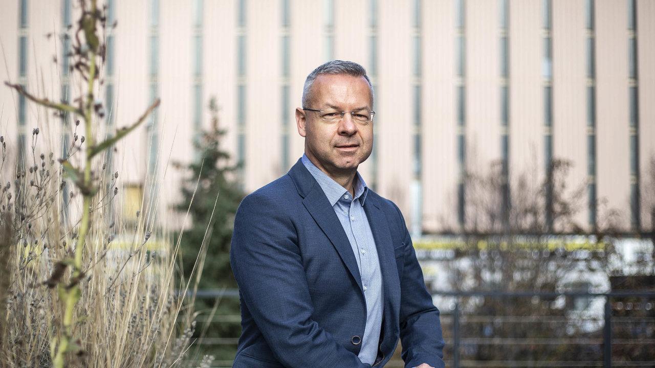 Filip Dostál, ředitel oddělení Business Development společnosti GasNet