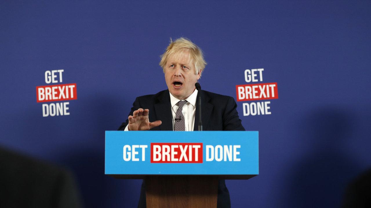 Boris Johnson, brexit, Velká Británie, premiér