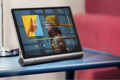 Lenovo Yoga Smart Tab má unikátní design i funkce.
