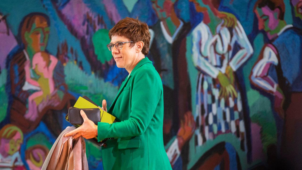 SAKK to nevyšlo: CDU musí hledat nového lídra poté, co neuspěla Annegret Krampová Karrenbauerová.
