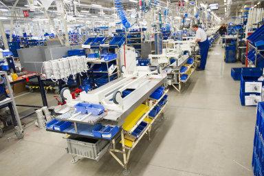 Hlavní výrobní základnou Linetu je závod v Želevčicích uSlaného.