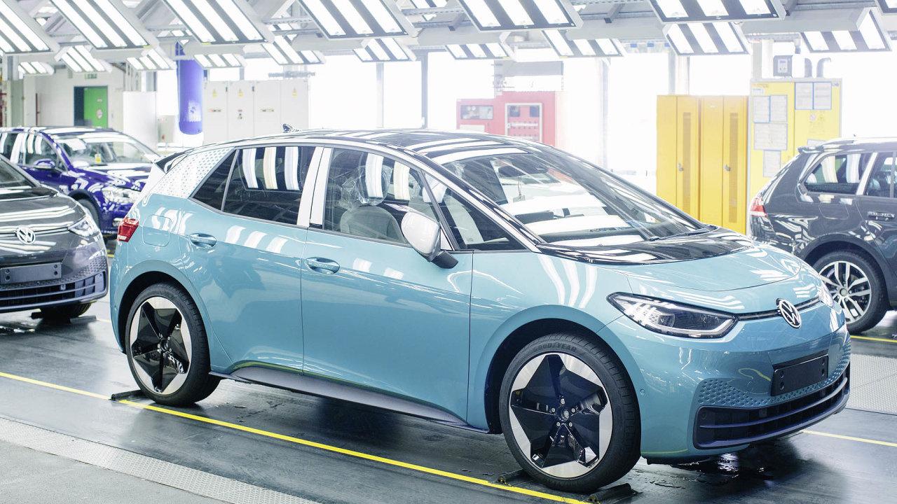 Elektrický VWID.3 využívá stejný technický základ jako budoucí elektrické Škody. VW ho bude dodávat iFordu.