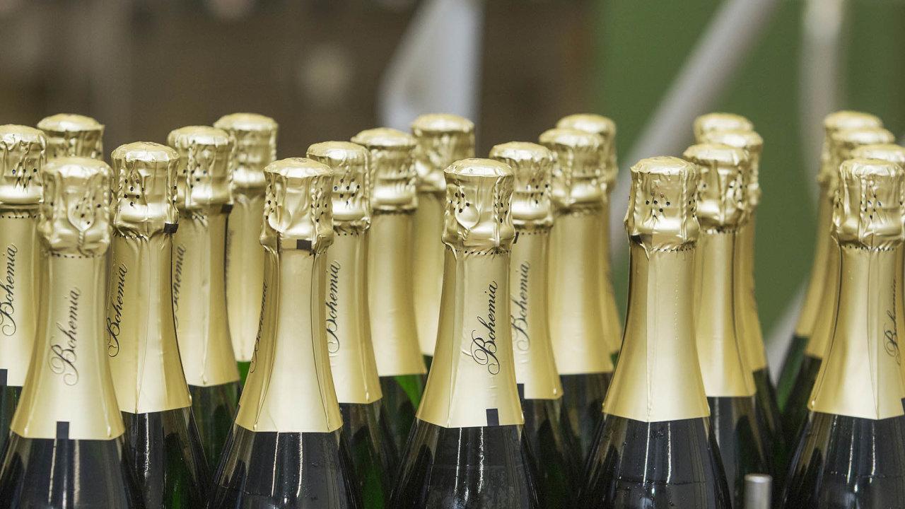 Příjmy firmy dlouhodobě neohrožují konkurenční hráči, protože Bohemia Sekt má načeském trhu šumivých vín dominantní postavení, zabírá 70 procent.