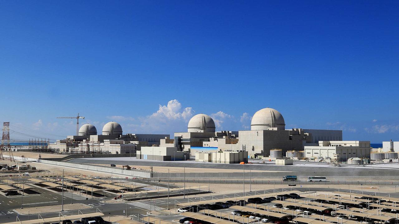 První jaderná elektrárna varabském světě Baráka nabřehu Perského zálivu bude se svými 5600 megawatty výkonnější než současný Temelín aDukovany dohromady.
