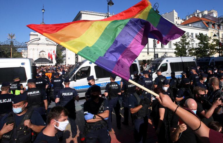 Polsko LGBT protest