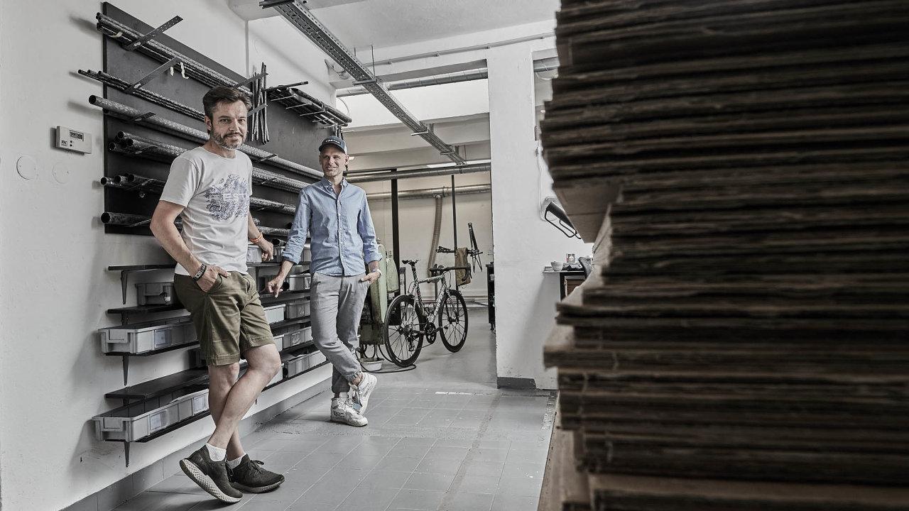 Ondřej Novotný (vlevo) a Michael Moureček