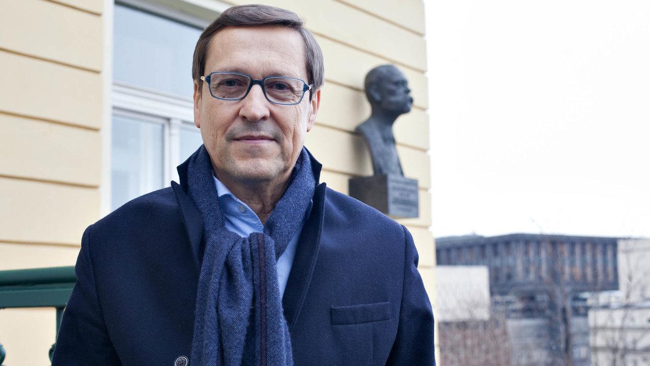 Filantrop a nakladatel Jiří Wald.