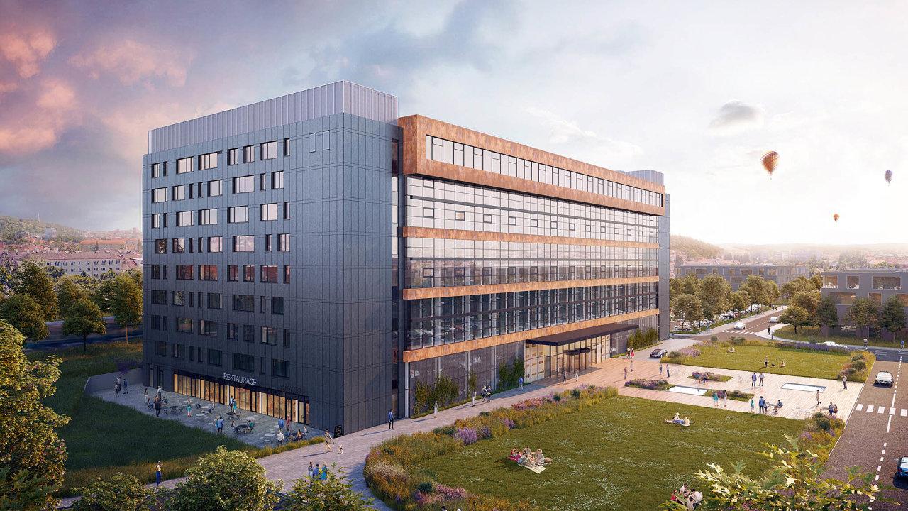 ZET.office. Bývalá průmyslová budova brněnské Zbrojovky nabízí kanceláře vetřech loftových ajednom klasickém patře.