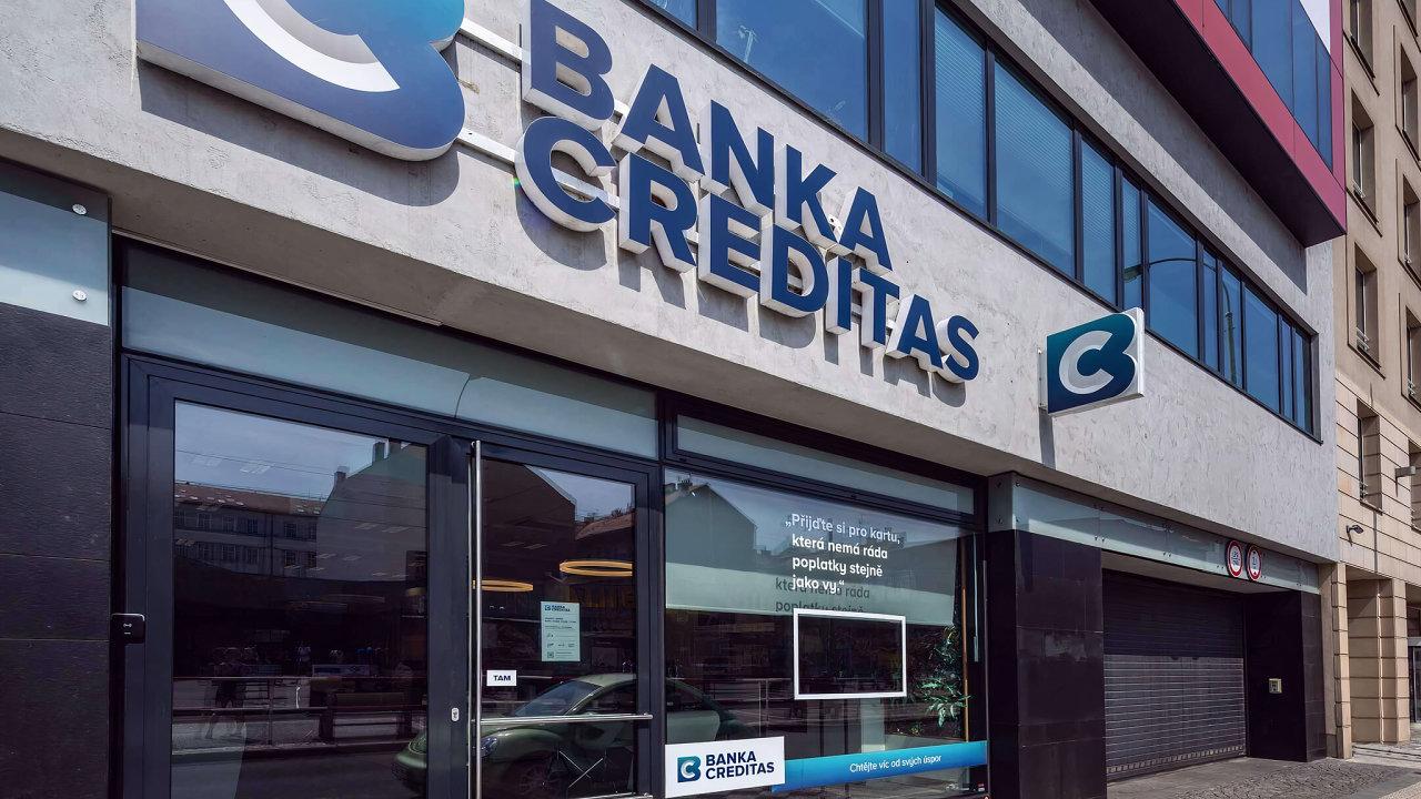 Banka CREDITAS, pobočka Praha