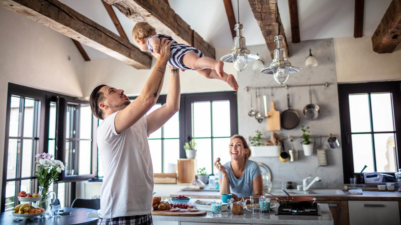 rodina, bydlení