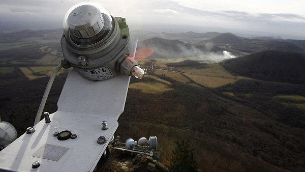 Místem s nejčastějším výskytem větru v Česku je Milešovka, nejvyšší vrchol Českého středohoří.