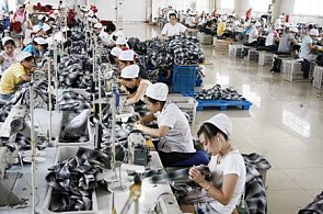 Slowdown in Chinese manufacturing