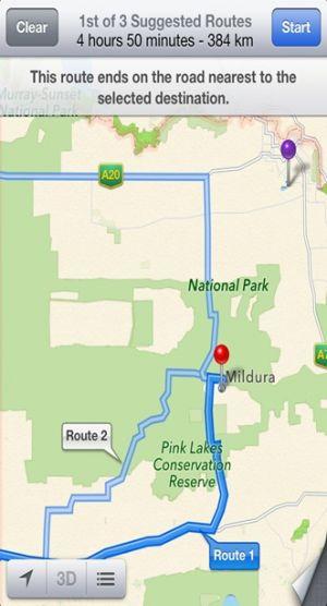 Chybné instrukce na Google Maps
