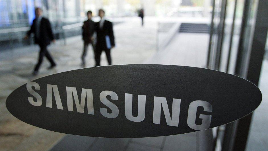 Logo společnosti Samsung
