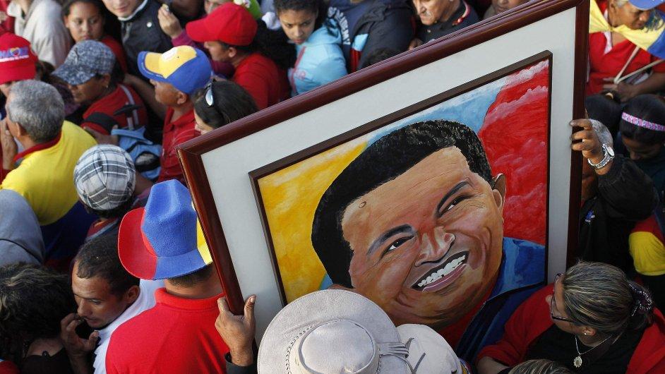 Pohřeb Huga Cháveze