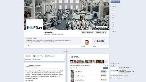 Facebook iHNed.cz